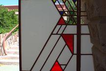 Frank Loyd Wright motifs