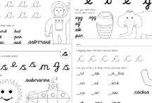 kids - cursive resources