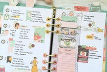 Planner pages layout