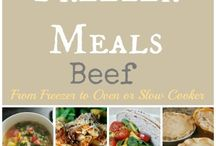 Freezer meals / by Linsey Otto