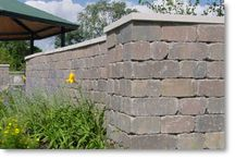 Residential Applications / Everything from traditional retaining walls to free standing walls!