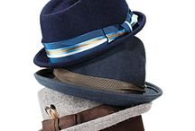 HATS make a difference / Stylish men's fedoras