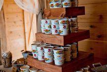 foods for a barn wedding!