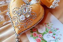 Broderies perlées