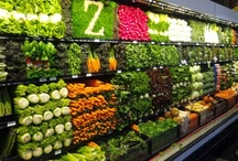 Grocery displays