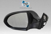Original Aussenspiegel Spiegel mit Glas Komplette Schwarze Kia Sportage 2010-2014