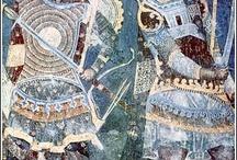 sztuka - freski, XV wiek