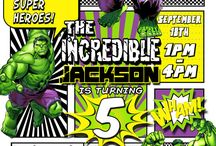 Deandré 4th Birthday - Hulk