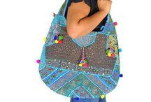 Bohemian Sari Handbags