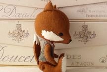 Fox crafts / by Annett