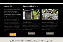 DesignCo Marketing designed this site for a local contracting company.