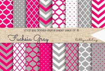 digital scrapbook paper examples