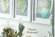 Wall art paper / Decoration en papier
