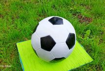 Football love <3 / This is a soccerball or Football cake that i made