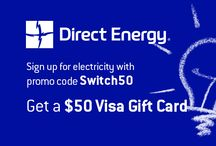 Bright Deals / Bundle packages and savings from Direct Energy. / by Direct Energy