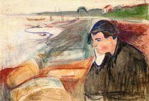 Munch / Storia dell'Arte Pittura  19°-20° sec. Edvard Munch  1863-1944