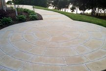 Custom Carved Stone Flooring