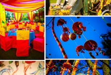 Wedding Decor / The different elements that goes into the creation of a beautiful wedding.