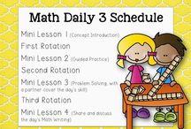 Math daily five centres
