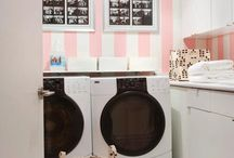 Pretty Laundry Spaces / Inspiring Laundry Room Decor