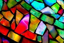 stained-glass window\витражи