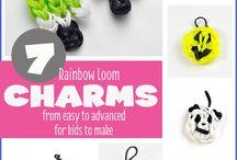 Rainbow Loom / Rainbow loom crafts