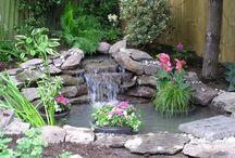 okrasne zahrady a jazierka