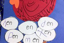 Phonics - Word Families / Fun ideas for teaching phonics (word families) in the kindergarten classroom.