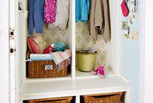 Mudroom Closets