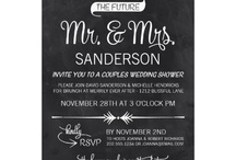 Ginger Invites and Save the Dates / by Summer King