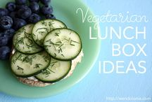Vegetarian lunch box / Any suggestions are very gratefully recieved! / by Amanda Swift