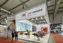 Cib Unigas - Mostra Convegno / Act Events Allestimenti fieristici Exhibition stand display