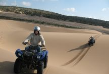 Quad biking with Explora Morocco / Our experienced guides will ensure you discover the beautiful area surrounding Essaouira, its rivers, wild beaches and immense dunes as well as the dense forest trails.  http://www.exploramorocco.com/quad-biking/