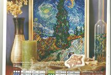 X-Stitch : Art & Architecture / Cross stitch designs from works of art or of buildings.