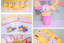 Girly minion party