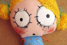 paint dolls