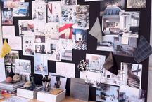 Murais de ideias e inspirações