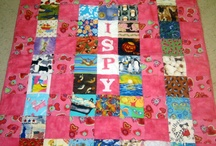 Quilts - I spy & T-shirt & JEANS / variety of I Spy, T-shirt, and denim ideas