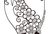 henna design