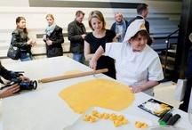 Rezdora Show Cooking @ Laminam Showroom Milano