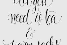 Tea / Tea - I simply can't live without it :)