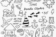 Doodles - zomer