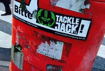 Tackle Jack discovered / Our logo just pops up everywhere.