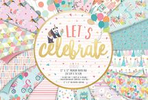 First Edition Let's Celebrate / Capture special memories with First Edition's party papercraft collection, Let's Celebrate. Amidst contemporary colours and patterns, find Louise Tiler's beautiful illustrations of pandas, flamingos and adorable dogs alongside fun party-themed designs of ice cream, balloons, birthday candles and bunting.
