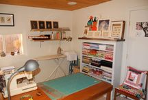Sewing Room and Organization