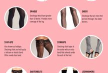 Fashion Infographics for Women / Archive of infographics decoding fashion for women