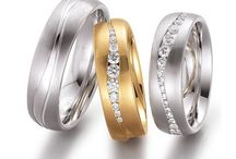 Wedding Rings / Wedding rings in all colours, widths and profiles! We can make wedding rings to suit you.