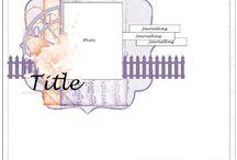 Scrapbook Sketches  / by Pamela Mathews