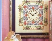 Embroidery - Cross Stitch - clocks / by Maya Heath