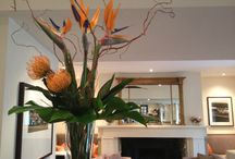 Hotel flowers / Corporate flower designs in The Royal Hotel,Ventnor,Isle of Wight